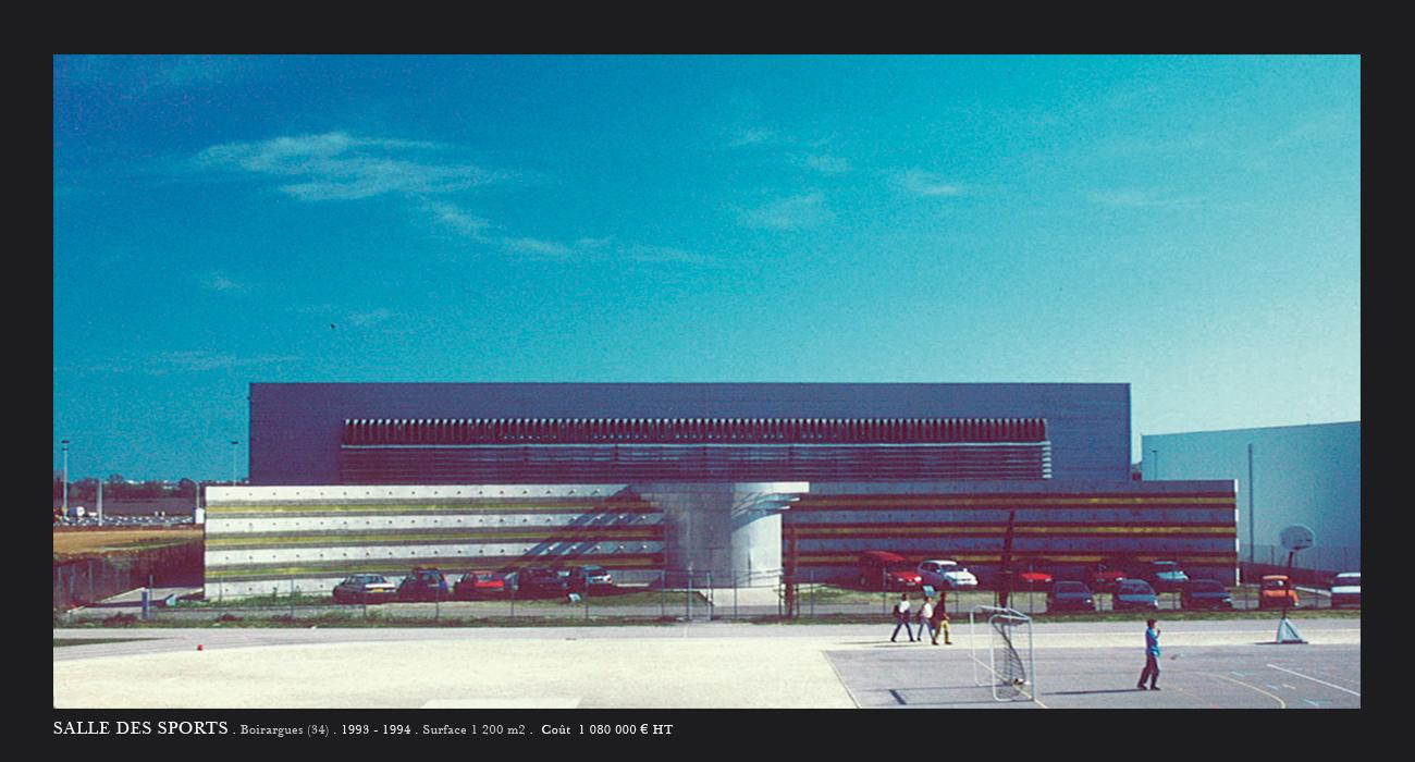 Architecte montpellier equipements salle des sports - Salle de sport port marianne montpellier ...