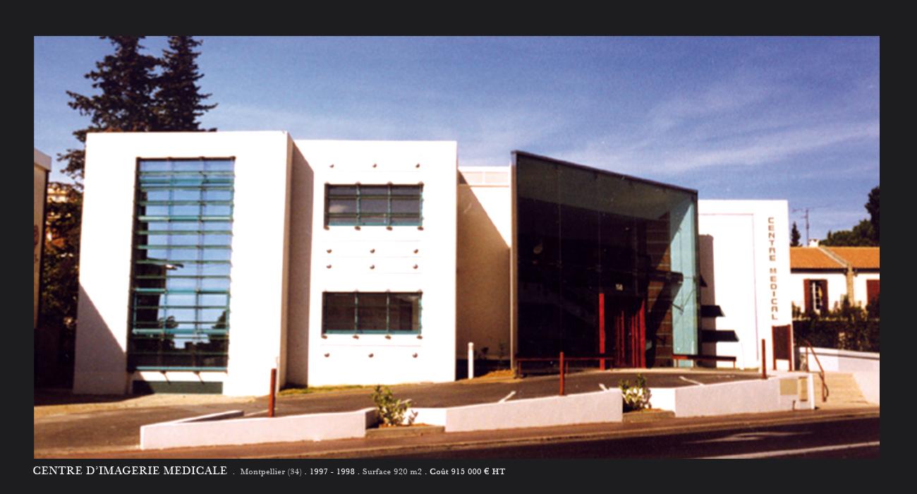 Architecte montpellier sant centre d 39 imagerie for Architecte montpellier